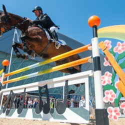 Showjumping in Liverpool city? Yeah, yeah, yeah!