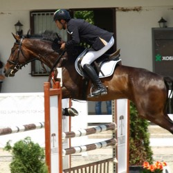 Iranian rider takes out FEI World Jumping Challenge