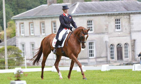 Zara Phillips and Drops of Brandy are currently in 11th place in the CCI1* class at Camphire.