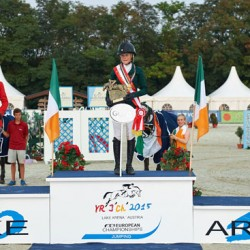 Young showjumpers share the spoils at European Champs