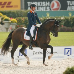 Germany takes early lead in European Dressage champs