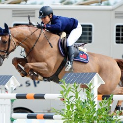 Riders grab last chance for Rio showjumping spot