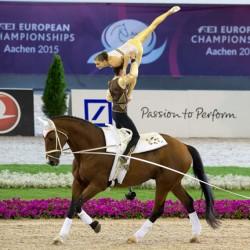 Austrian duo continue Pas de Deux vaulting dominance