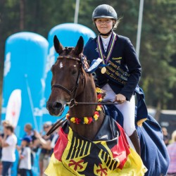 Double gold for Germany in junior European eventing champs