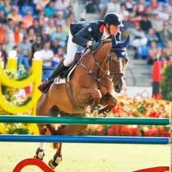 France hits lead in European Jumping Championships