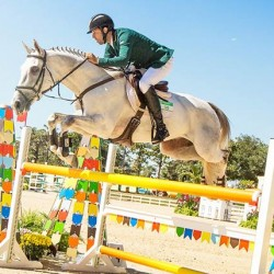 Big margin for horse trials winner of Rio Olympic test event