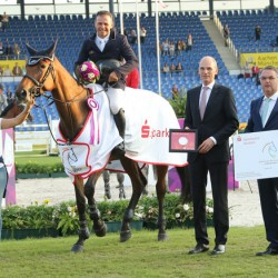 Zita 94 wins first round of young horse series at Aachen