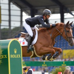 Germany heads team jumping, French rider leads European Champs