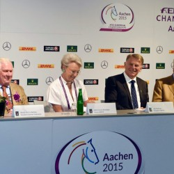 Sport horse breeding body joins up with Rolex