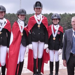Bulgaria, Turkey net double gold at Balkans Dressage champs