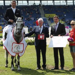 Cacharel wins second Aachen young-horse qualifier