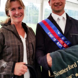 Kiwi eventer impresses at Somerford horse trials