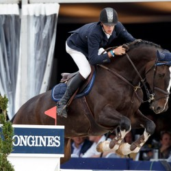 Earley on time in rare double win at World Champs for young horses