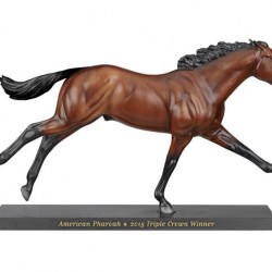 Breyer's American Pharoah models about to be launched