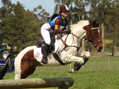 Defending champs take out eventing's Springston Trophy
