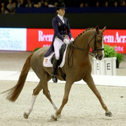 Spanish rider takes out French World Cup dressage leg