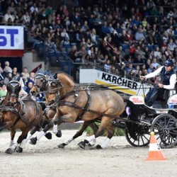 Boyd Exell draws first blood in World Cup driving opener